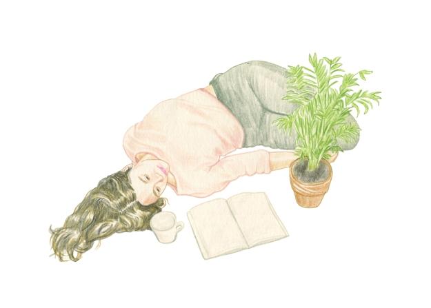 lying-around